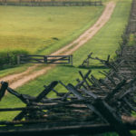 antietam battlefield picket fence