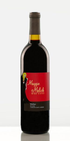 Bottle of Malbec