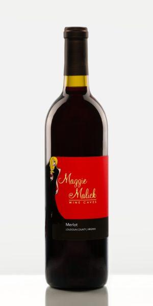 Bottle of Merlot