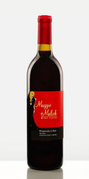 Bottle of Rhapsody in Red