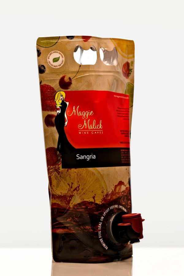 Pouch of sangria