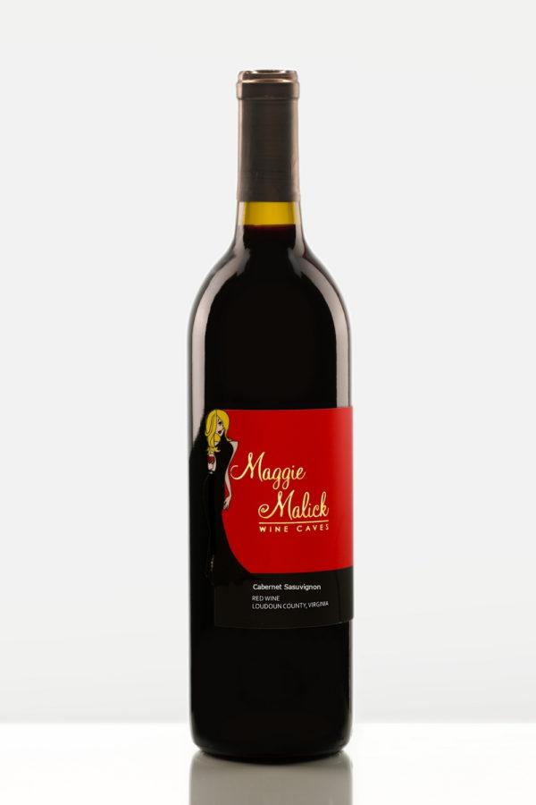 Bottle of Cabernet Sauvignon