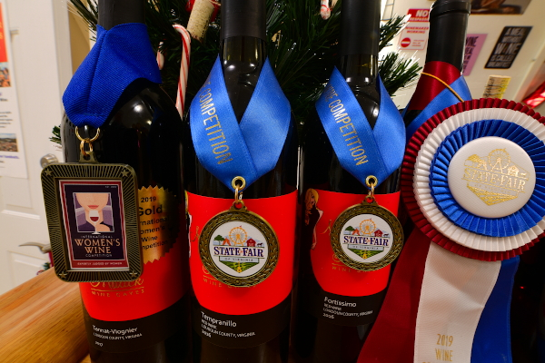 Wine awards for Maggie Malick wines