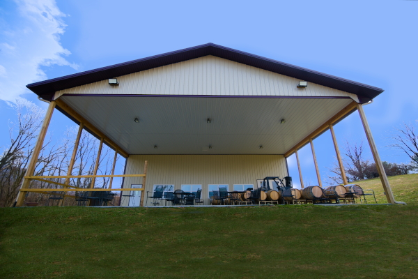 Outdoor pavilion