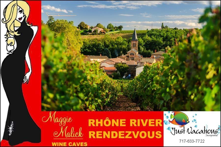 Rhone river view